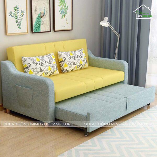 Ghế sofa giường kéo đa năng TGK 05 kéo ra thành một chiếc giường