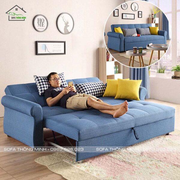 Sofa Giường Kéo Đa Năng TGK 06 Nằm Thư Giãn