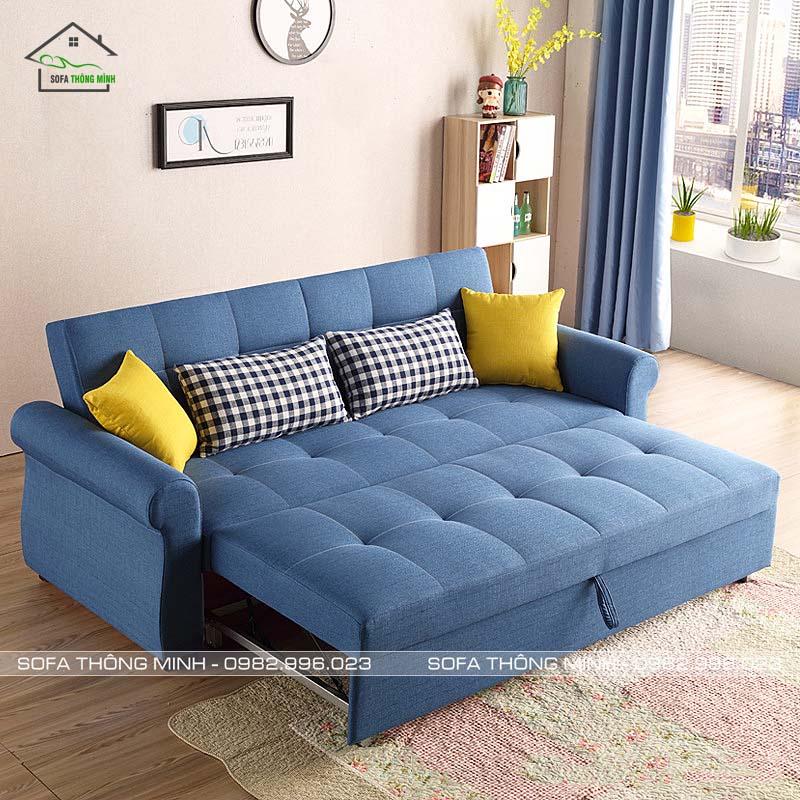 Sofa Giường Kéo Đa Năng TGK 06 Khi Làm Giường