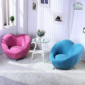 Ghế sofa đơn hình trái tim TĐ 13