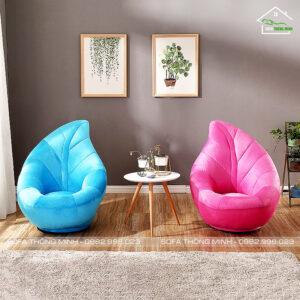 Ghế sofa đơn hình trái tim đẹp mã TD 05