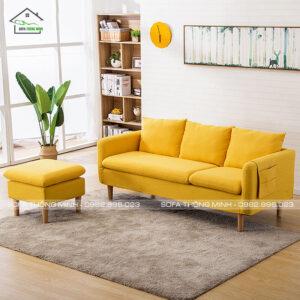 Sofa Băng Độc Đáo Màu Vàng TĐ-15