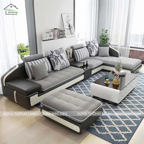 Ghế sofa góc chữ L đẹp cao cấp TM-G04