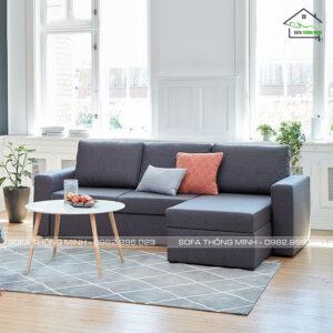 Ghế sofa góc phòng khách giá rẻ tm 12