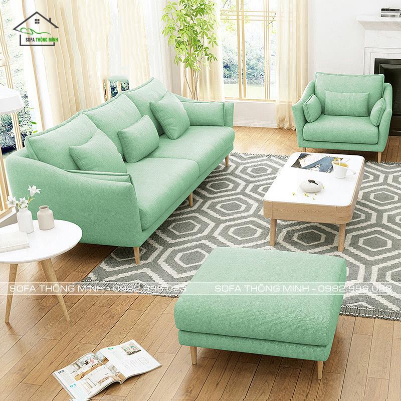 Sofa phòng khách dạng băng