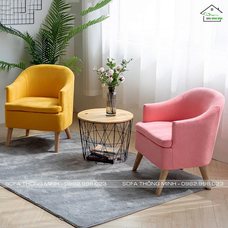 sofa phòng khách dạng đơn