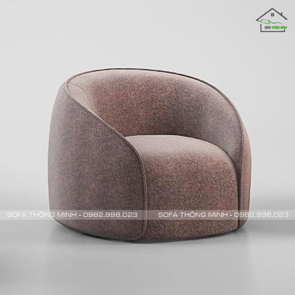 Sofa đơn tròn xinh đáng yêu SD-123
