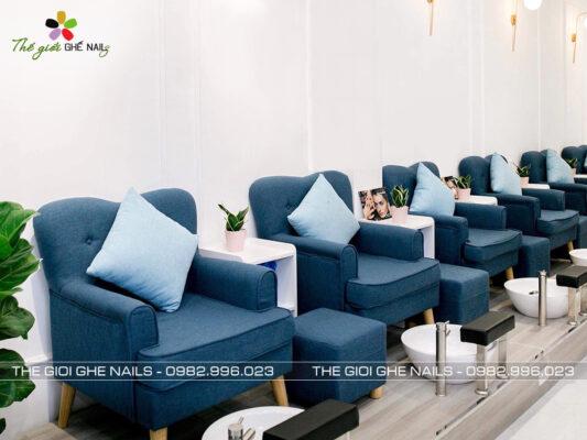 Ghế sofa đơn làm nail