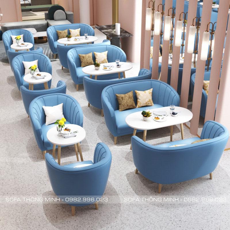 Sofa Quán Cafe Mã TM-CF02