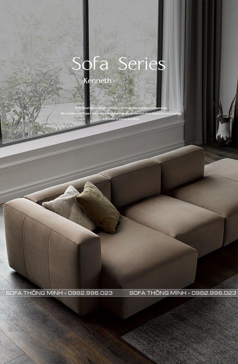 Sofa Phòng Khách Chữ L TPK-08