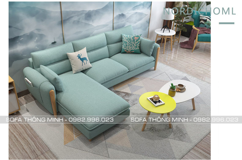 Sofa Phòng Khách Tay Gỗ TPK-10